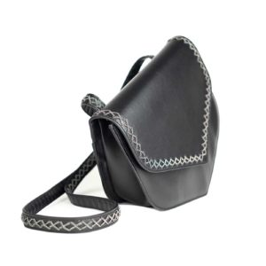 heart bag-black