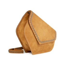 heart bag-caramel