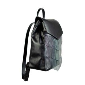 v backpack - black