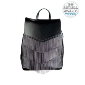 v backpack - black